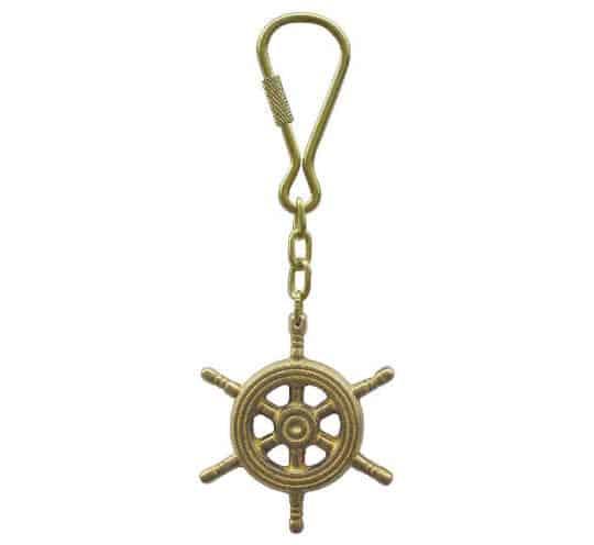 Steuerrad Schlüsselanhänger von Sea Club