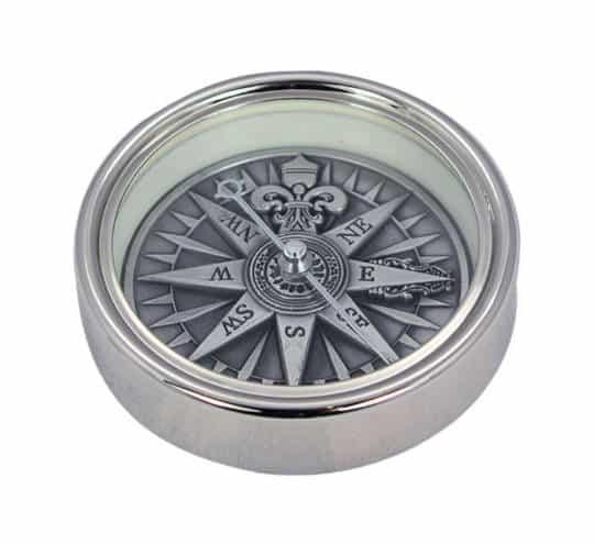 Kompass mit 3D Windrose von Sea Club