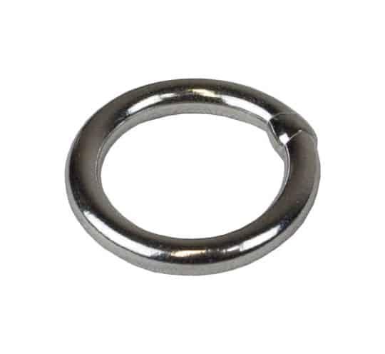 Edelstahl Ring 15mm