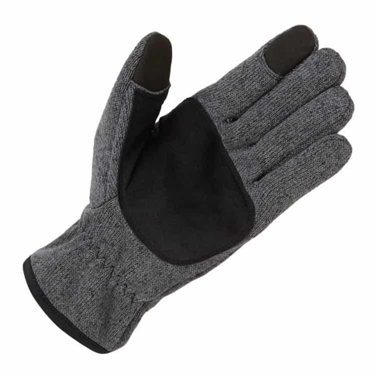 Strickfleece-Handschuhe von GILL Innenseite