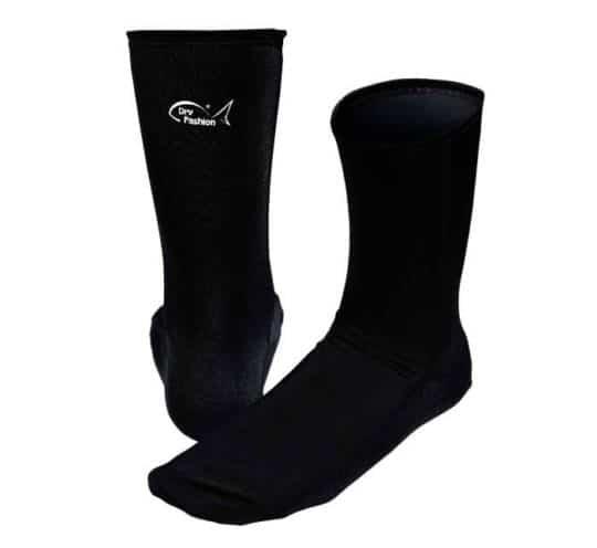 Elasthan Neopren Socken von Dry Fashion