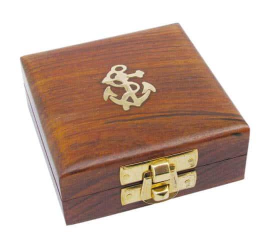 Holzbox mit Anker von Sea Club