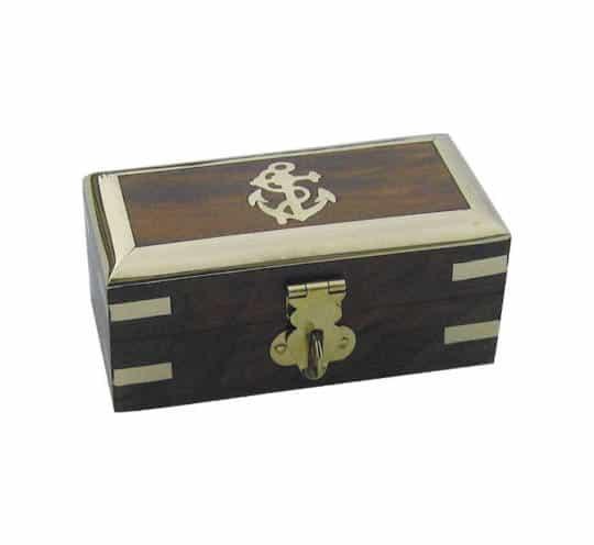 verschließbare Holzbox von Sea Club aus Holz