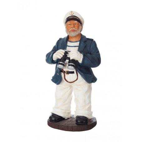 Dekofigur Kapitän mit Fernglas von Artesania