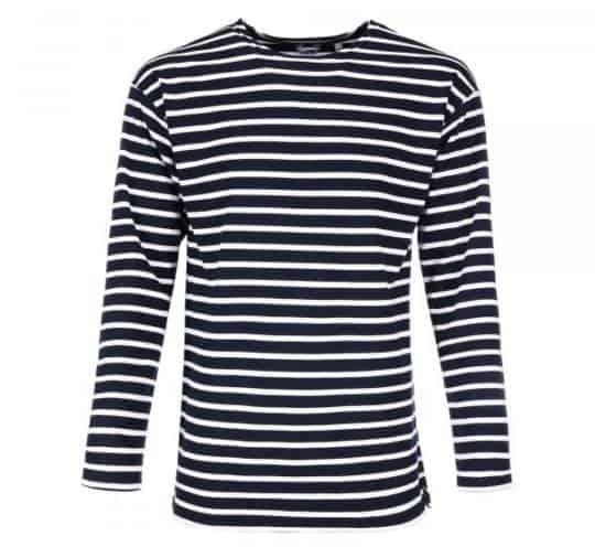 Das bretonische Streifenshirt von Modas für Herren Ringelshirt blau weiß