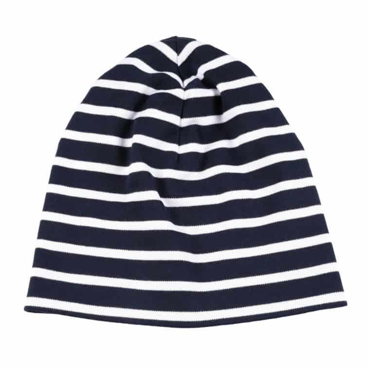 bretonische Mütze von Modas blau weiß