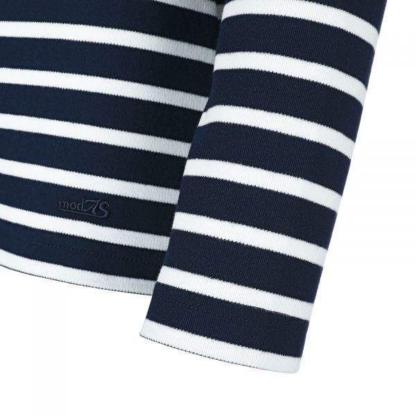 Modas Ringelshirt blau weiss langarm