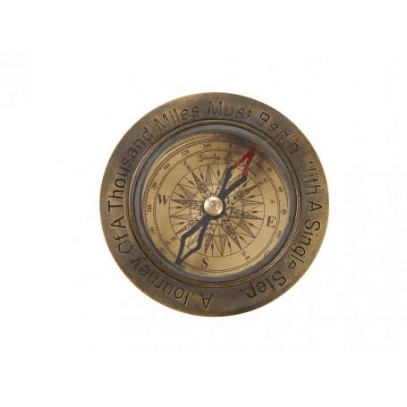 Kompass mit Gravur von Artesania