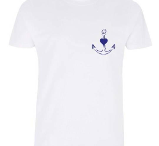 Shirt mit Anker und Herz von vonsandlass