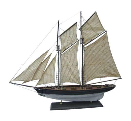 Holz Segler mit antikem Look von Sea Club