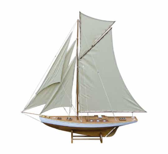 große Holz Segelyacht von Sea Club