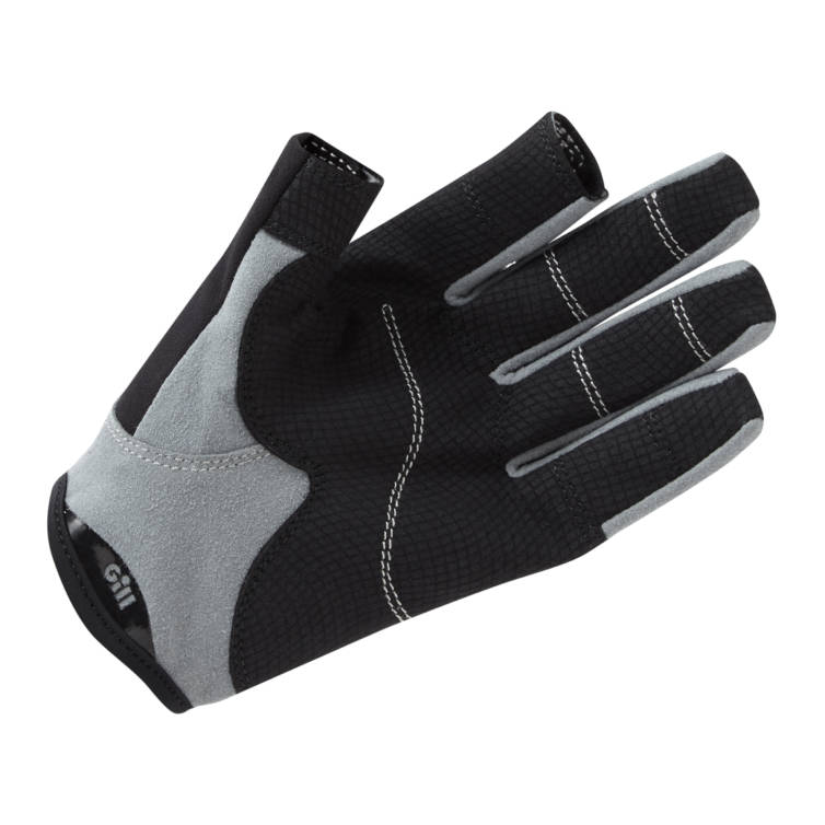 Deckhand Gloves long fingers von GILL Handinnenseite