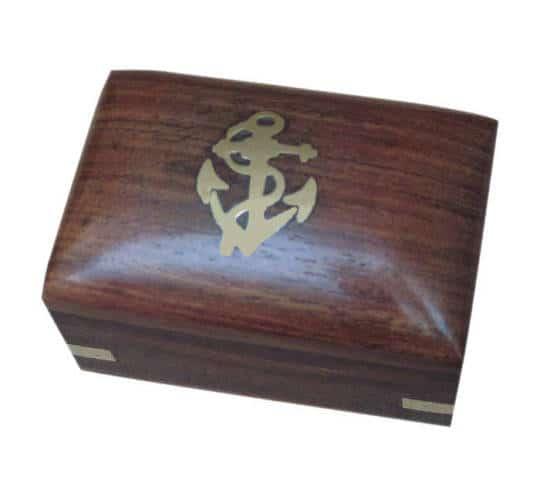 Holzbox mit Klappdeckel von Sea Club