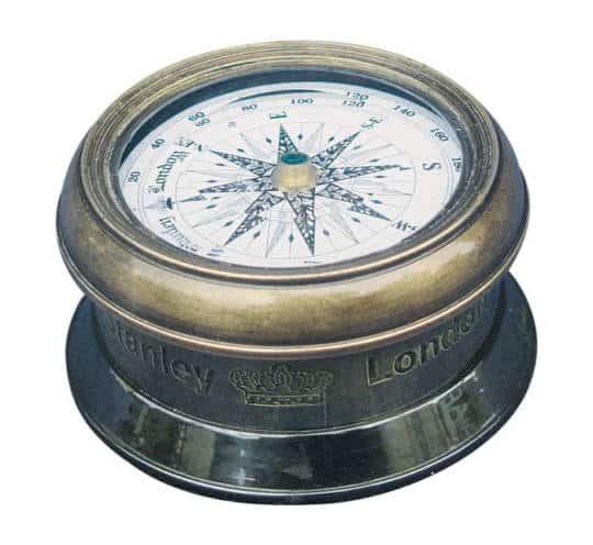 Kompass mit Glasdeckel von Sea Club