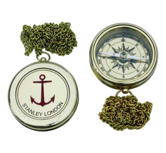 Kompass mit Ankergravur von Sea Club