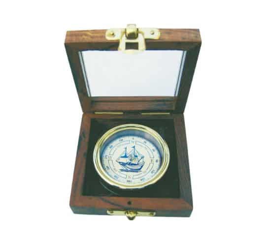 Kompass mit Schiffs-Windrose von Sea Club