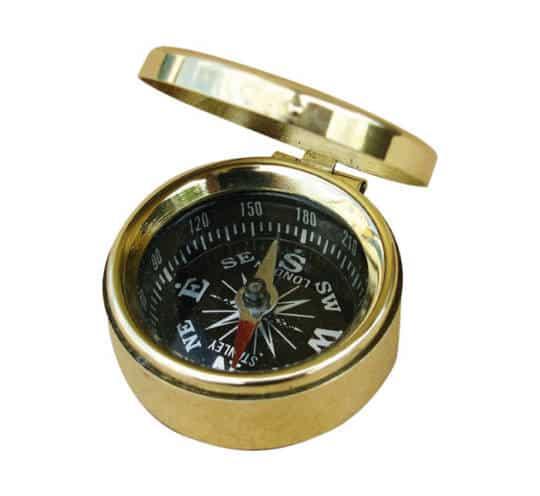 kleiner Kompass mit Deckel von Sea Club
