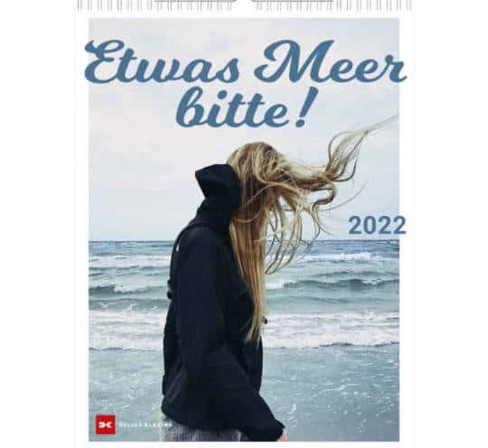 """Kalender Delius Klasing Verlag """"Etwas Meer bitte"""""""
