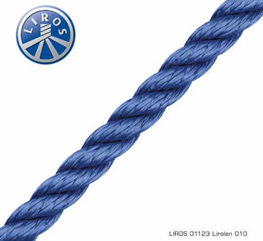 LIROS Lirolen Tauwerk blau