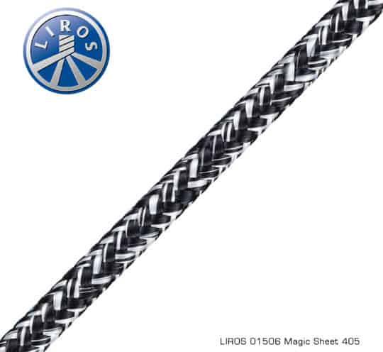 LIROS Leine Magic Sheet weiß marine