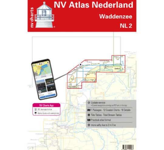 Atlas Nederland NL2 - Waddenzee