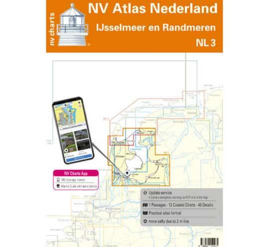 Atlas Nederland NL3 - IJsselmeer & Randmeeren