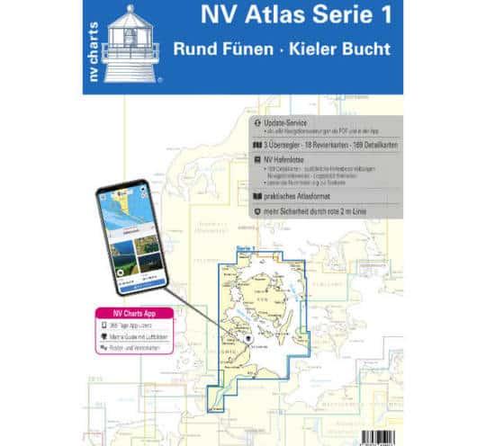 Atlas Serie 1 Rund Fünen-Kieler Bucht