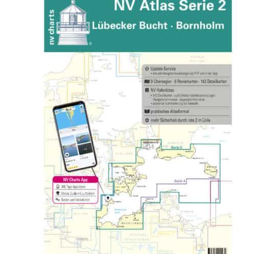 Atlas Serie 2 Lübecker Bucht - Bornholm - Kopenhagen