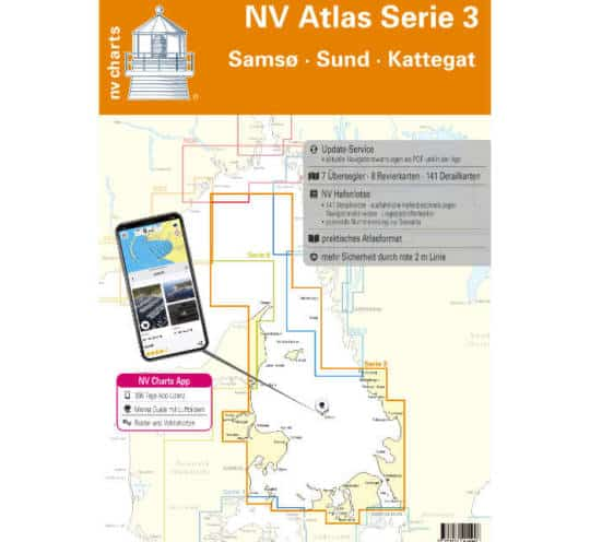 Atlas Serie 3 Samsø-Sund-Kattegat