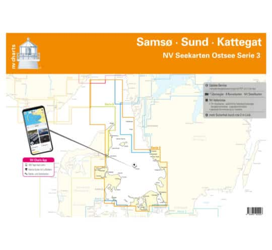 Serie 3 Plano Samsø-Sund-Kattegat