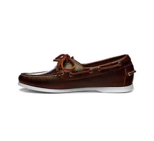 Docksides Jaqueline Waxy von Sebago in brown