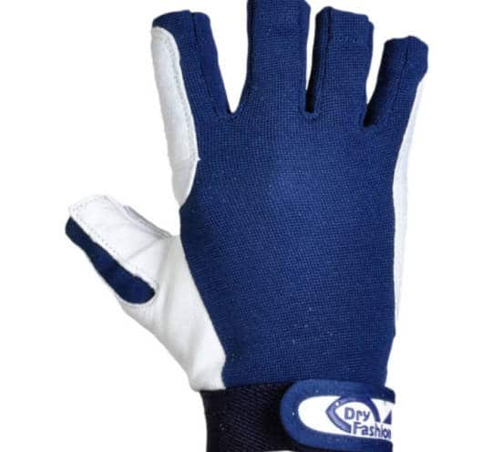 kurze Segel Handschuhe aus Leder von Dry Fashion